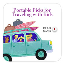 Portable Picks for Traveling with Kids