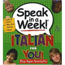 Speak In A Week Italian For You
