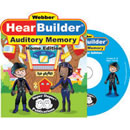 Webber HearBuilder Auditory Memory - Strategic Memory Training for Listening - Home Edition