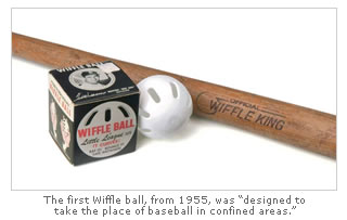 First Wiffle Ball and Bat