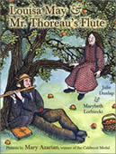 Louisa May and Mr. Thoreau's Flute
