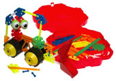 Kid K'nex Rovin' Rollers Building Set