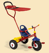 Radio Flyer Model #54 Deluxe Canopy Steering Trike