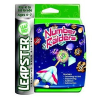 Leapster Arcade games: Number Raiders