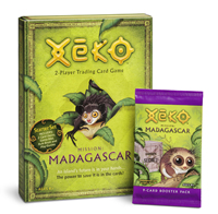 Xeko - 2 Player Trading Card Game - MISSION: Madagascar