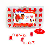 Ready 2 Learn Giant Uppercase & Lowercase Alphabet Stampers Combo