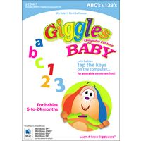 Giggles Computer Funtime for Baby - ABC's & 123's