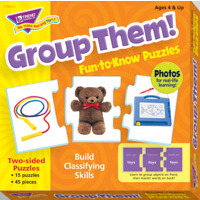 Group Them! Fun-to-Know Puzzle (T-36015)