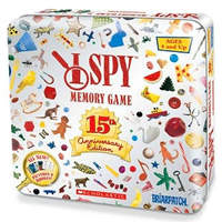 I Spy Memory Game 15th Anniversary Silver Tin Edition