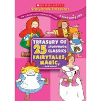 Treasury of 25 Storybook Classics: Fairytales, Magic...and More!