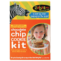 Zebra Mix - Brownie Bites, Chocolate Chip Cookies, and Cupcake & Frosting Kit