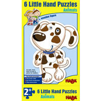 Little Hand Puzzles- Animals, Farm & Construction