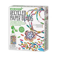Green Creativity/ Recycled Paper Beads