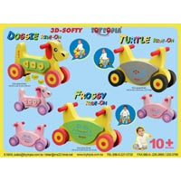3D Softy Animal Ride-On