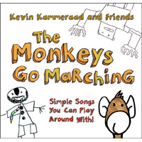 The Monkeys Go Marching {Simple Songs You Can Play Around With}