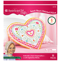 American Girl Crafts® Felicity Merriman® Embroidered Pillow Kit
