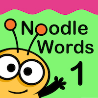 Noodle Words - Active Word Game Set 1