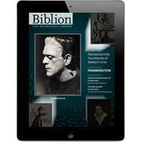 NYPL Biblion: Frankenstein