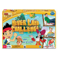 Jake and the Never Land Pirates Never Land Challenge Game