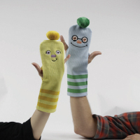 Sock Puppet Charades