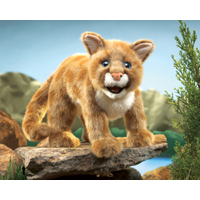 Folkmanis® Mountain Lion Cub Puppet