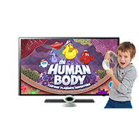 The Human Body Game: LeapTV edition