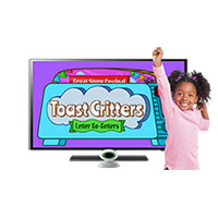 LeapTV Toast Critters: Letter Go-Getters
