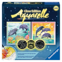 Aquarelle® Glow: Dolphins