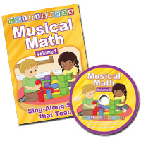HeidiSongs Musical Math Vol. 1