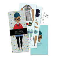 Moveable Paper Dolls of Unusual Kind