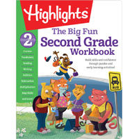 The Big Fun Second Grade Activity Book