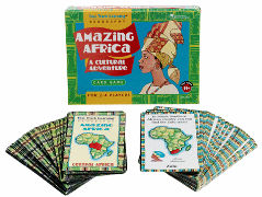 Fast Track Learning Amazing Africa Card Game