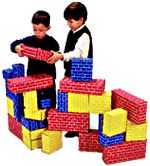 Imagibricks Giant Building Blocks 40-Piece Set