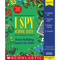 I Spy School Days CD-ROM