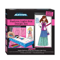 Project Runway Fashion Design Light Box Set