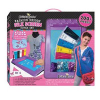 Fashion Angels Fashion Design Silk Screen Super Set