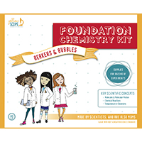 Yellow Scope Foundation Chemistry Kit for Girls