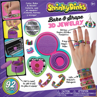 Alex Shrinky Dinks Bake & Shape 3D Jewelry Making Kit