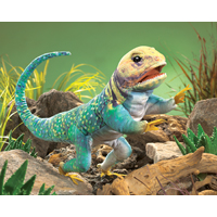 Folkmanis® Collared Lizard Puppet
