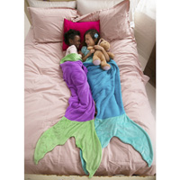 Blankie Tails™ Mermaid and Shark Blankets
