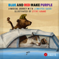 Blue and Red Make Purple by Jennifer Gasoi