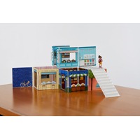 Wonderhood Corner Shops - Creative Building Set