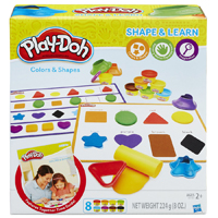PLAY-DOH COLORS AND SHAPES Set