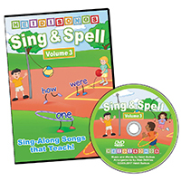 Sing & Spell the Sight Words - Volume 3 - Animated DVD