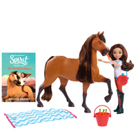 DreamWorks Spirit & Lucky Deluxe Feeding Set
