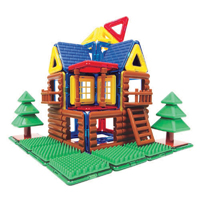Magformers Log Cabin 87Pc Set