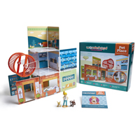 Wonderhood Pet Place - creative building set
