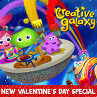Creative Galaxy Heart Day