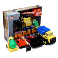 Magnetic Build A Truck