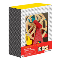 Petit Collage Carnival Play Set Wooden Ferris Wheel